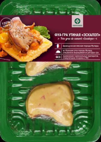 "Duck foie gras ""Escalope"""